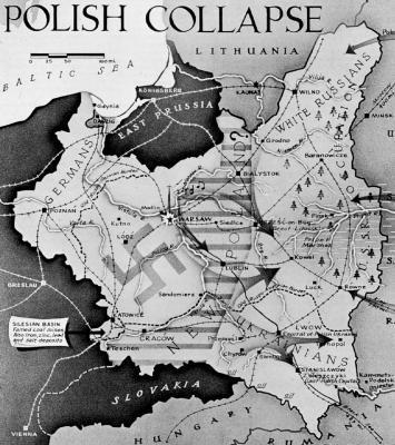 Declenche la seconde guerre mondiale la pologne est a nouveau partagee